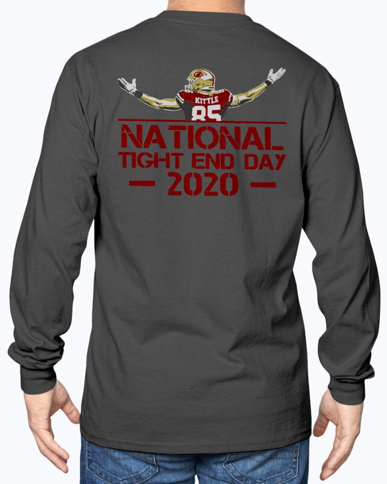 NATIONAL TIGHT END DAY 2020 SHIRT  George Kittle  San Francisco 49ers