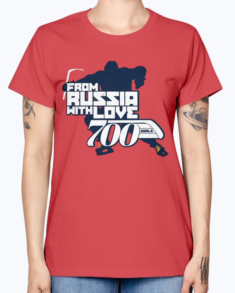 FROM RUSSIA WITH LOVE SHIRT