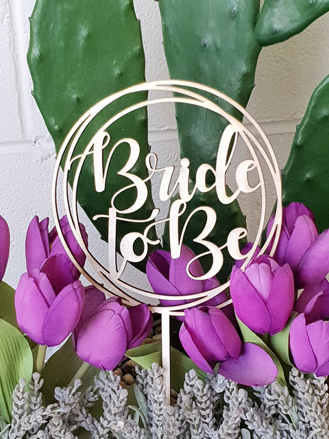 Bride to Be Wreath