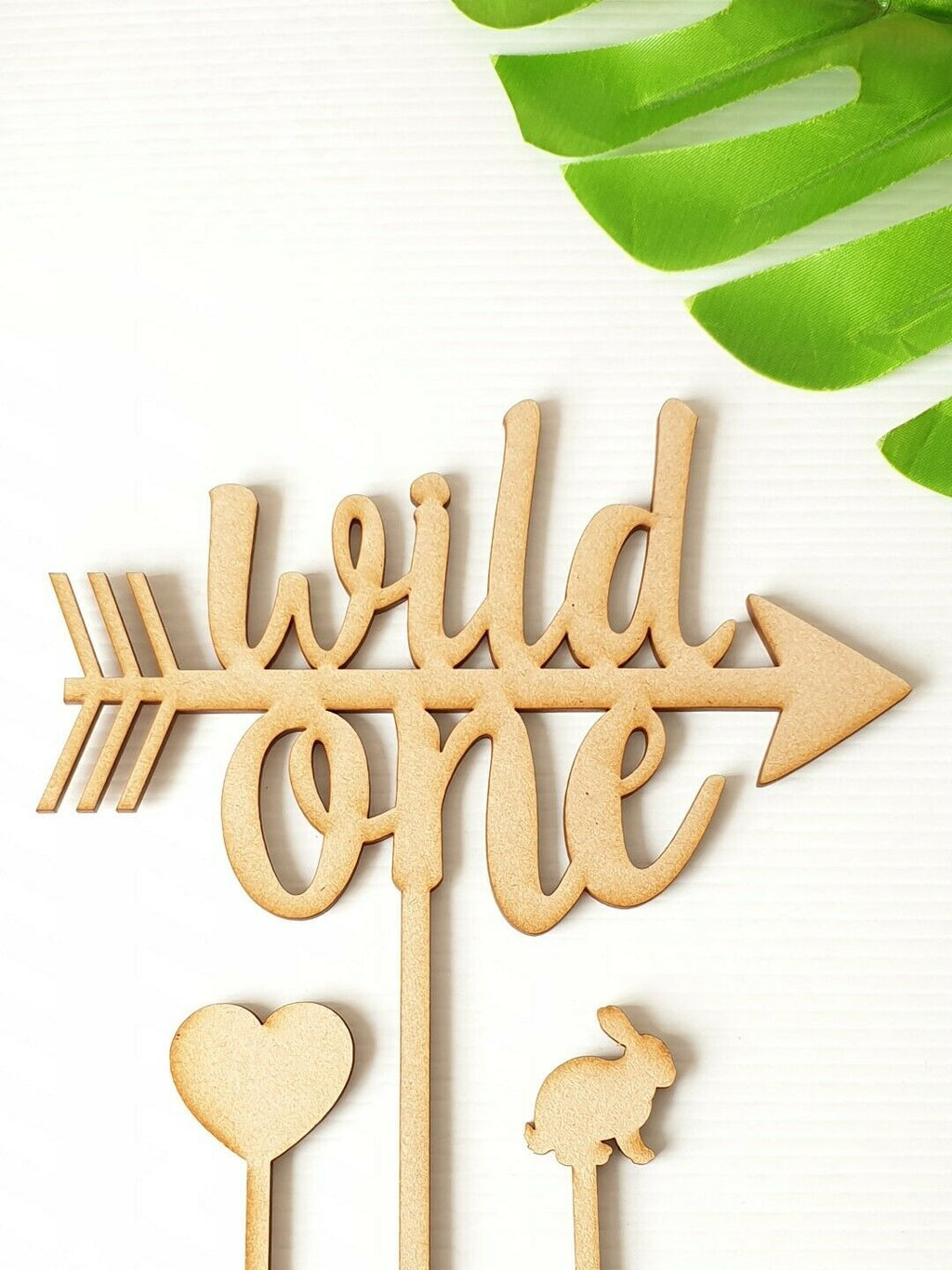 1 Wild One Cake Topper