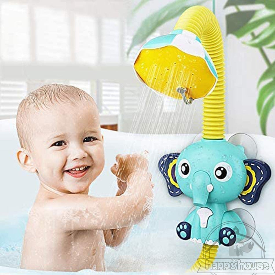 Cute Elephant Sprinkler Bath Toy