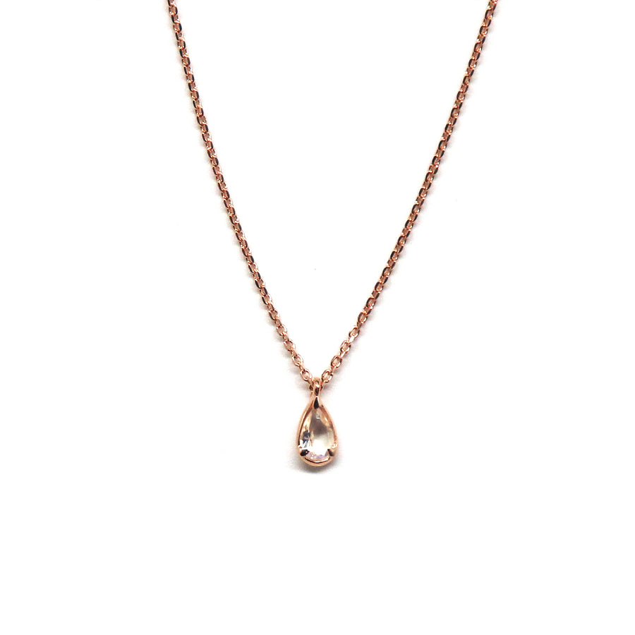 Oval Gem Necklace