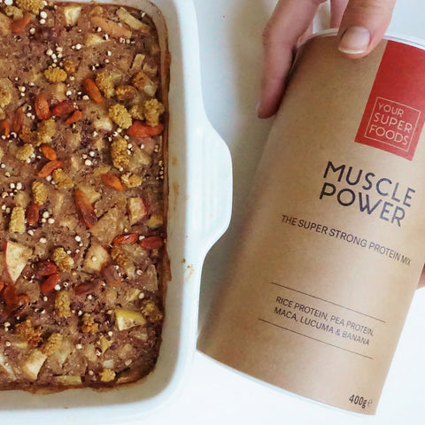 baked apple pie buckwheat muscle power your superfoods