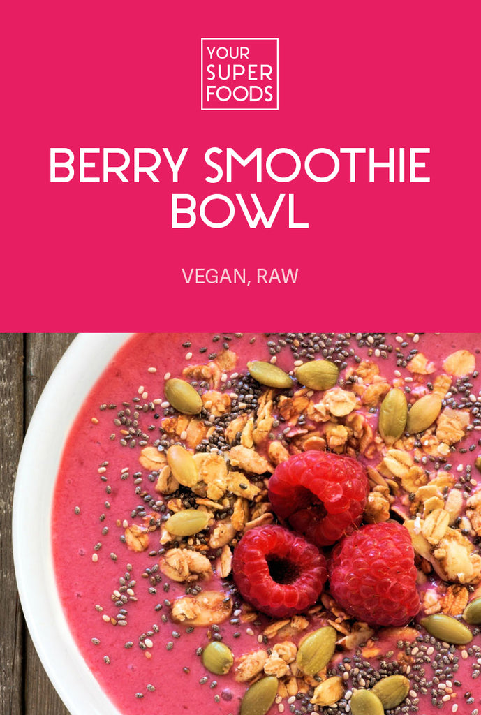 berry smoothie bowl your superfoods