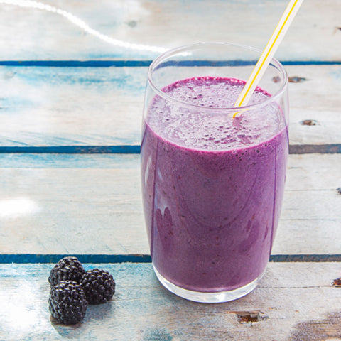 blackberry booster smoothie your superfoods