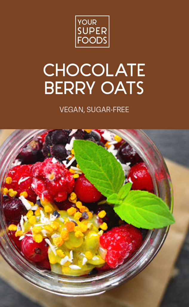 chocolate berry oats