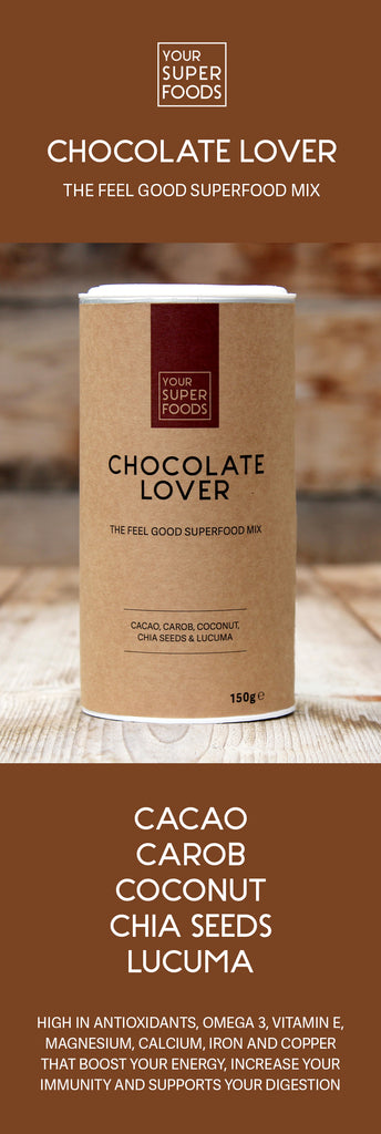 organic chocolate lover mix