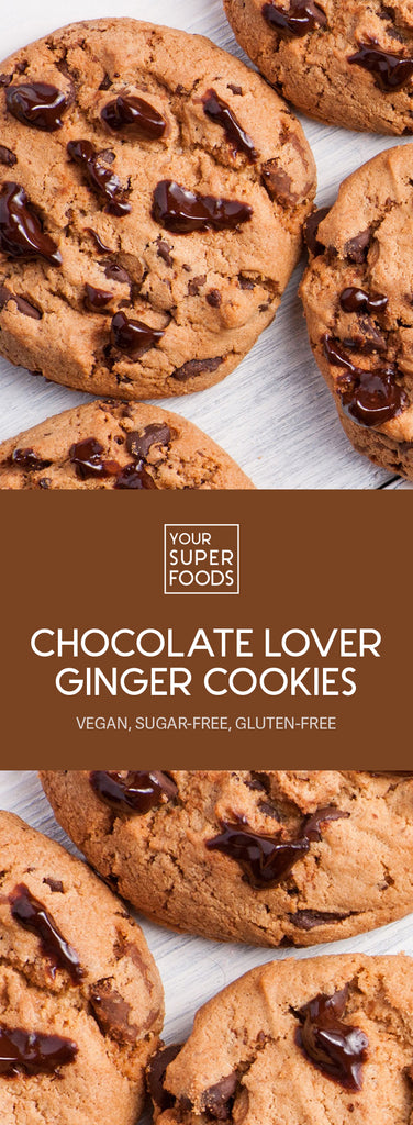 chocolate lover ginger cookies
