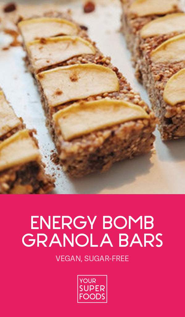 energy bomb granola bars