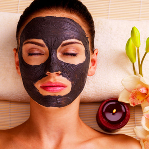woman with a homemade forever beautiful face mask your superfoods