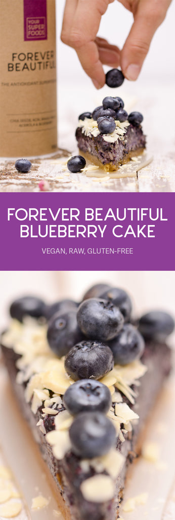 forever blueberry cake beautiful