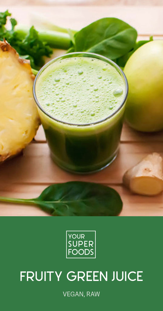 fruity green juice super green