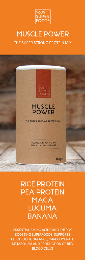 organic muscle power mix