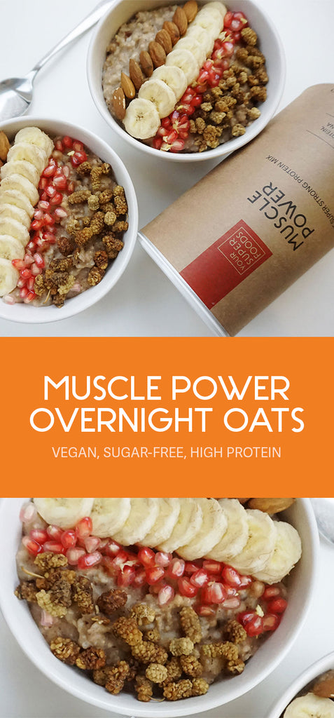 muscle power overnight oats