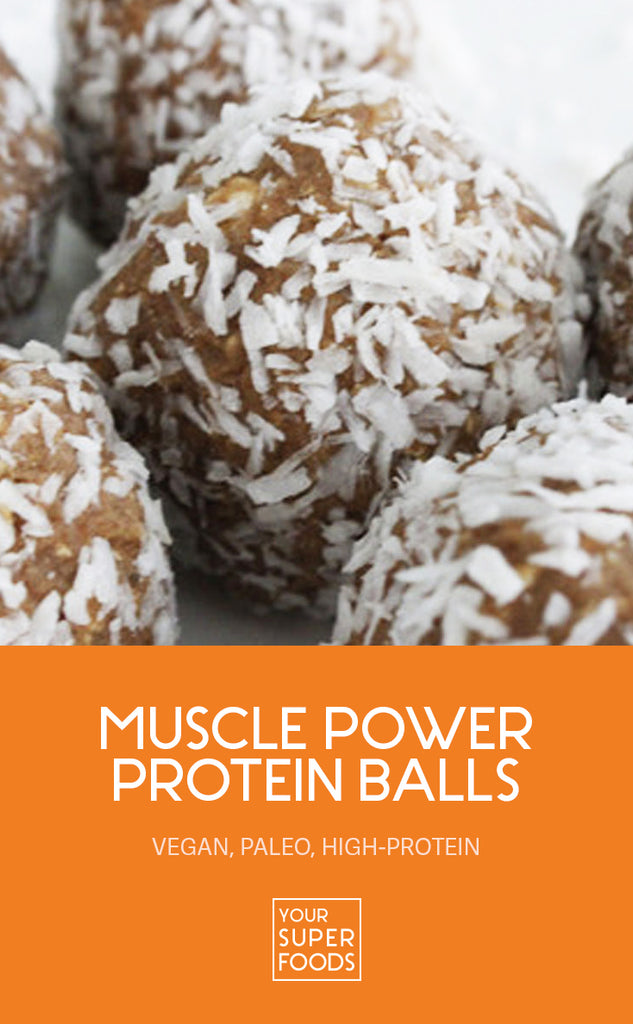 muscle power protein balls