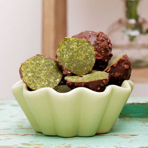 power matcha balls vegan gluten-free your superfoods