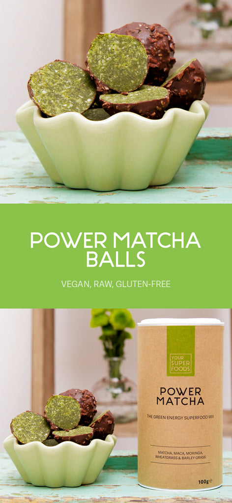 power matcha balls
