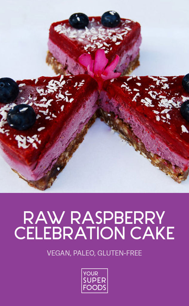 raw raspberrycelebration cake forever beautiful