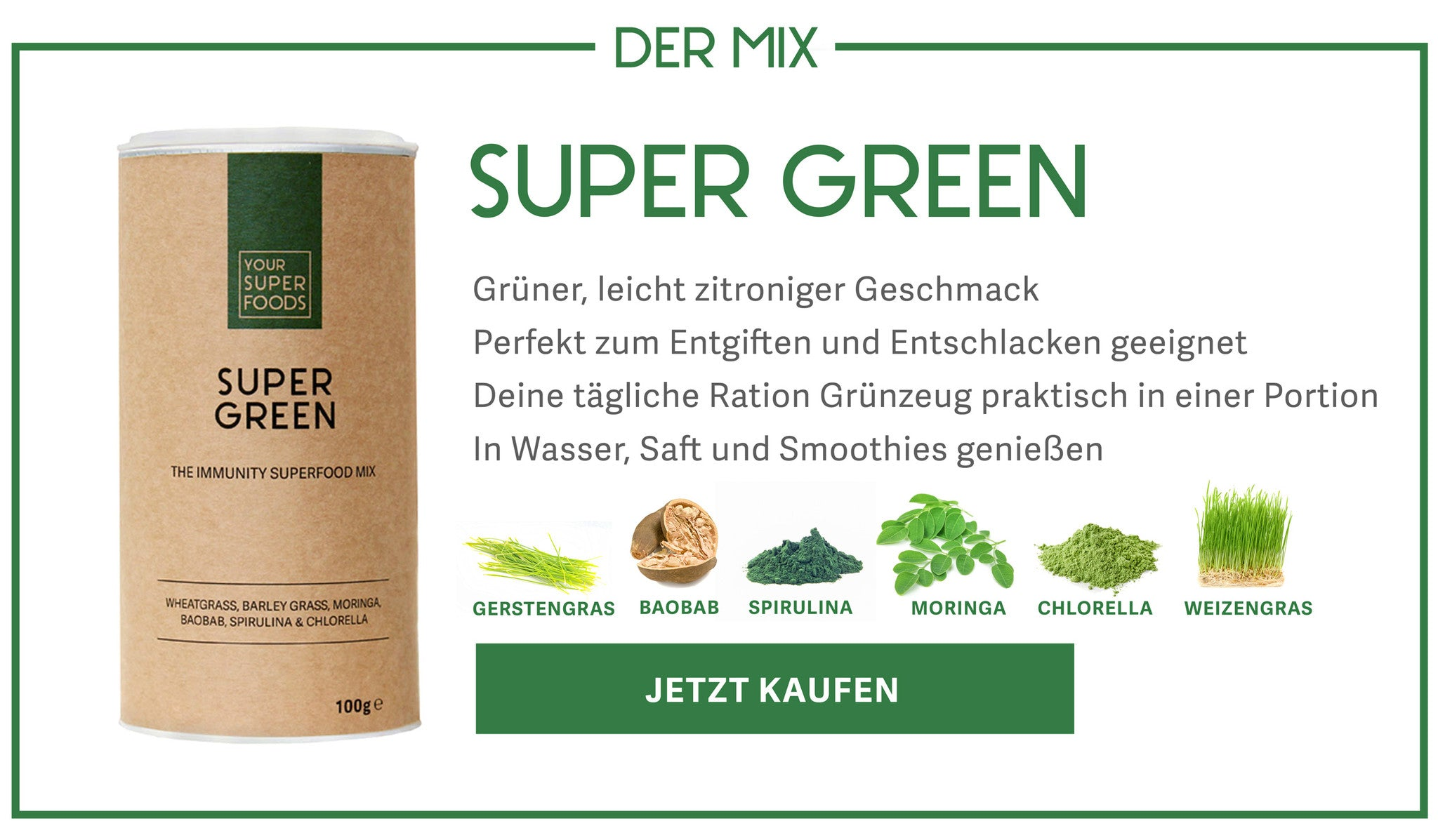 Super Green Mix Profil