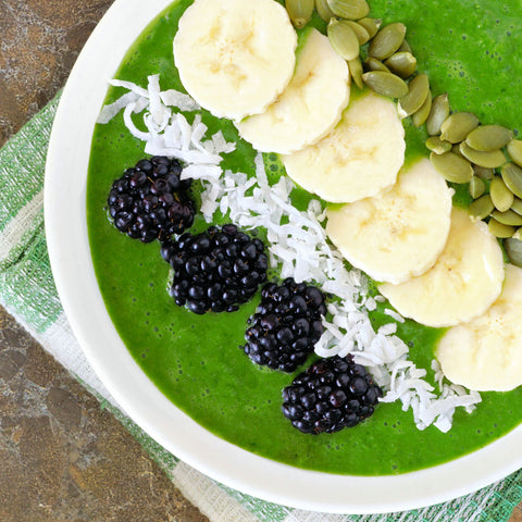 super green smoothie bowl your superfoods