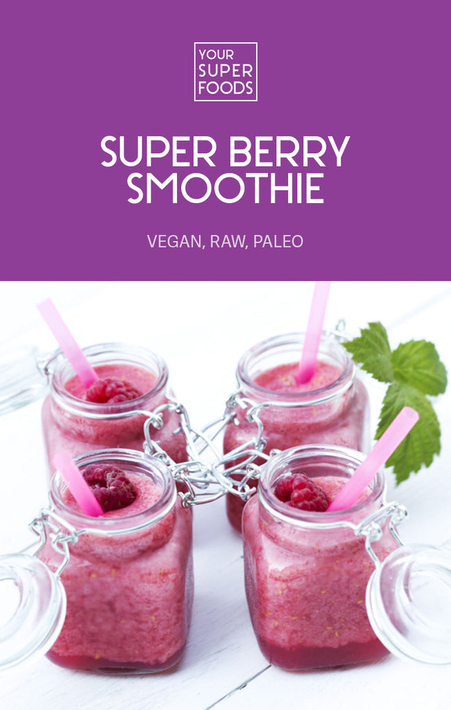 super berry smoothie forever beautiful