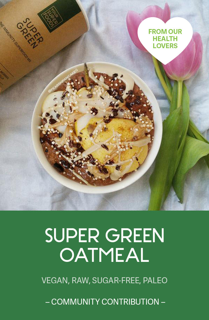 super green oatmeal