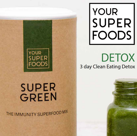 3-day clean eating detox your superfoods