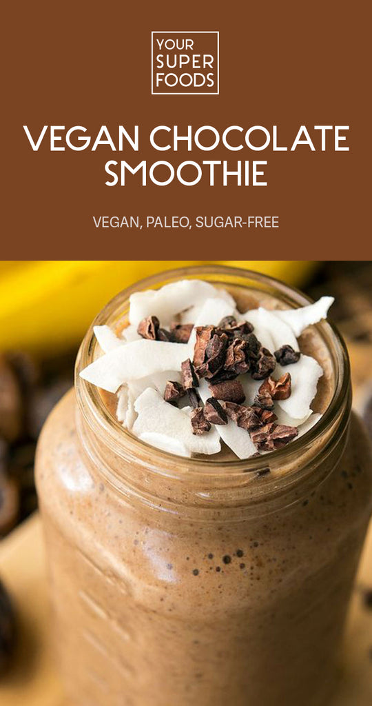 vegan chocolate smoothie