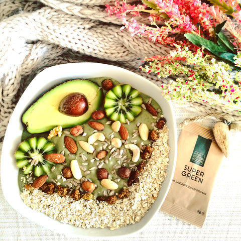 super green avocado smoothie bowl your superfoods