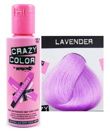 crazy color lavender hair dye - Crazy Color Aubergine
