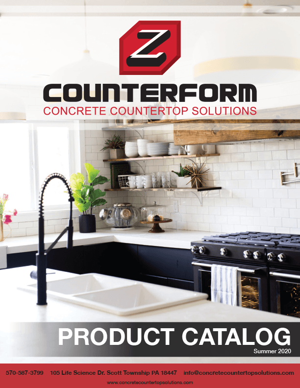 Counterform catalog cover page