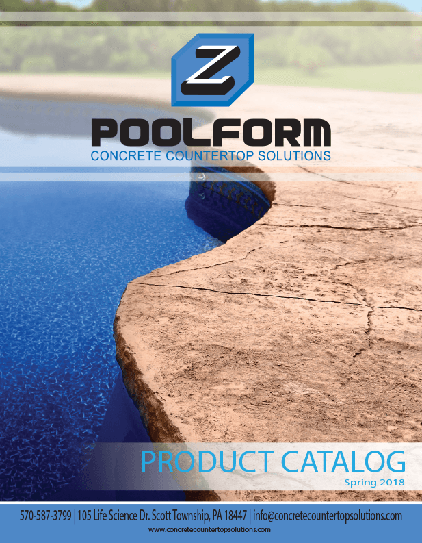 Poolform catalog cover page