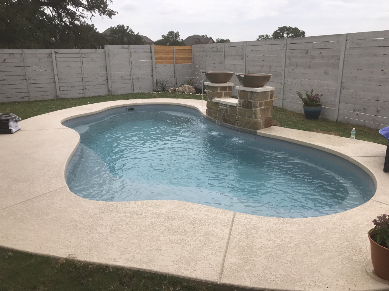 Concrete Pool coping from Blueprint Builder example 1