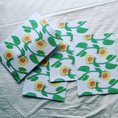 Paper Bags -Sunflowers
