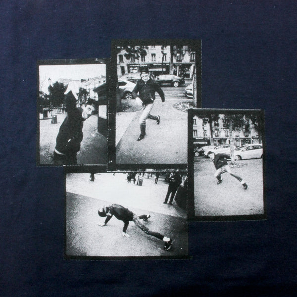 Baglady Boogey Down Dancer T Shirt Navy