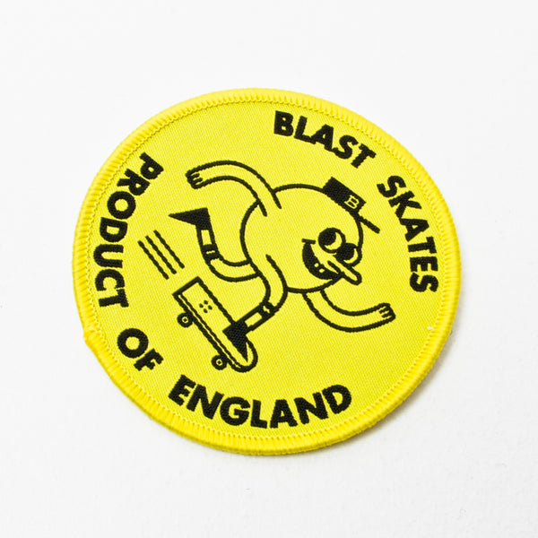 Blast Round Logo Patch