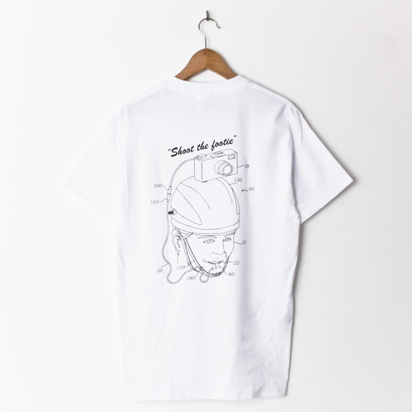 Boys Of Summer Shoot The Footy T Shirt White