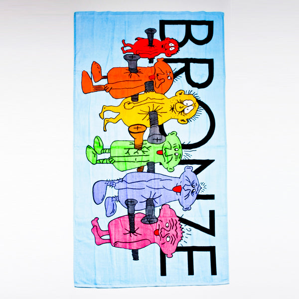 Bronze Bolt Boys Towel