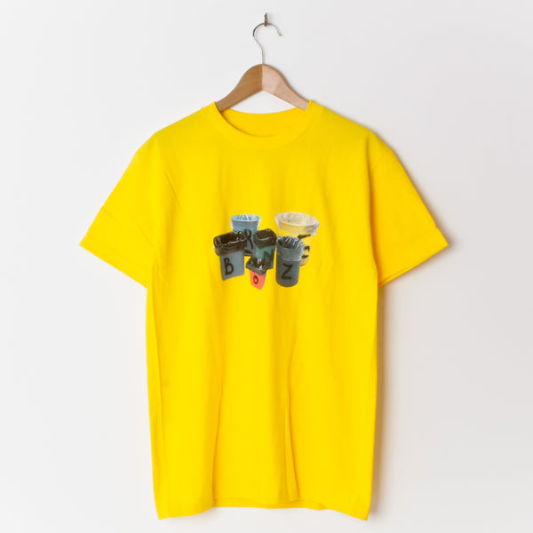 Bronze Trash T Shirt T-Shirt Yellow