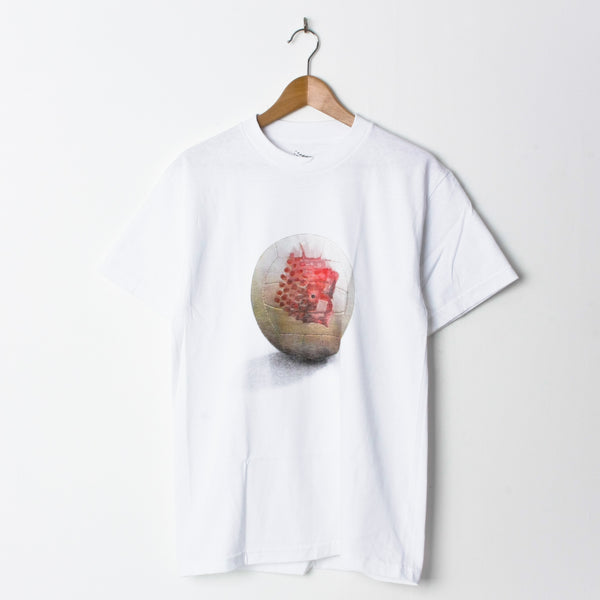 Bronze Wilson T Shirt White