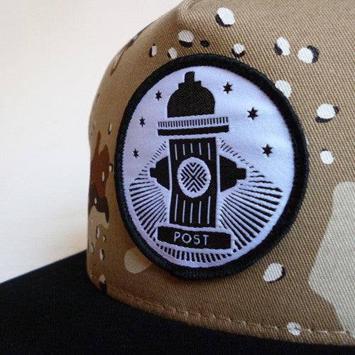 Post Hats & Details Camo Hydrant II