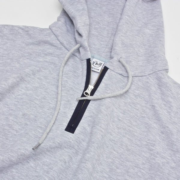 Post Hats & Details Decades Half Zip Hood