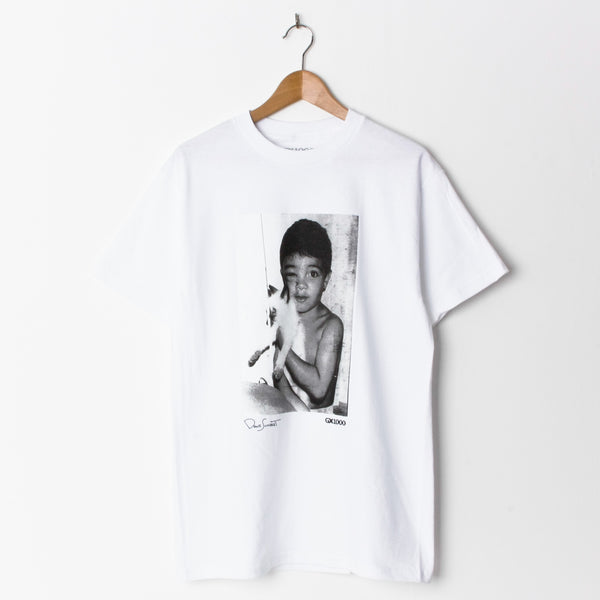 GX1000 X Dave Schubert Stray Cat T-Shirt White