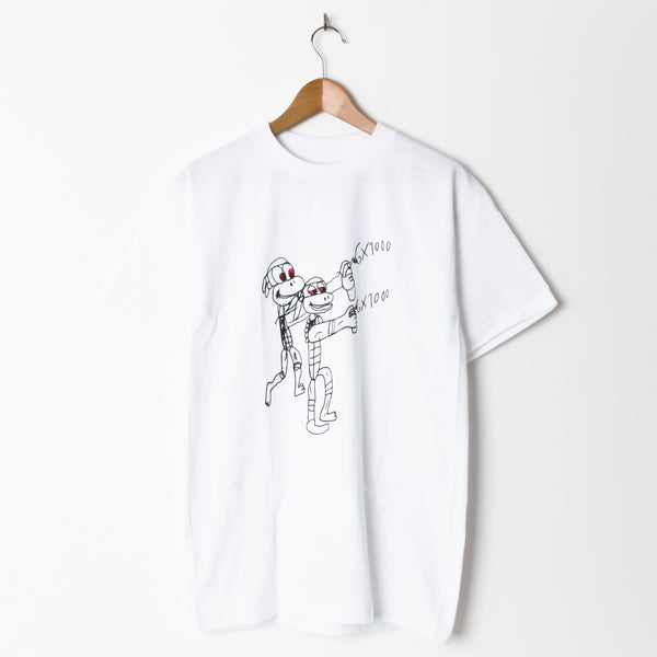 GX1000 Spray T-Shirt White RESTOCK