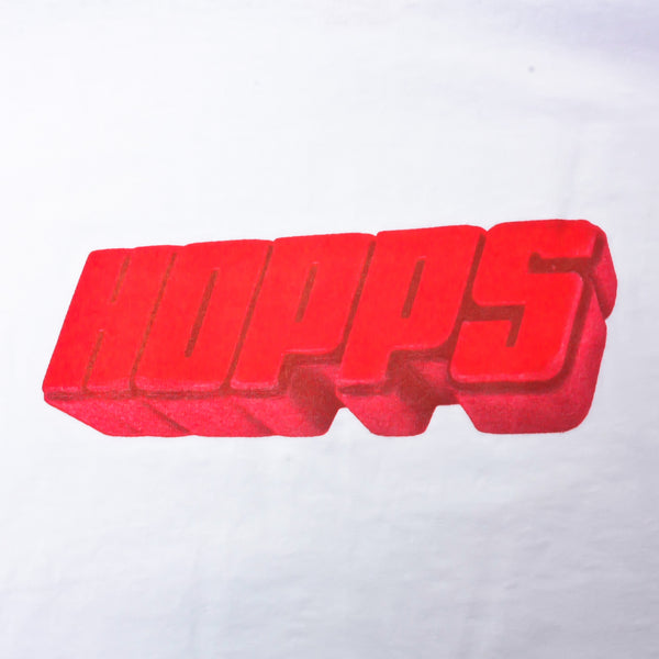 Hopps Big Wax T-Shirt White