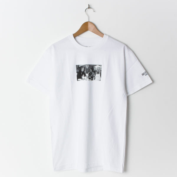 Hotel Blue Coffee T-Shirt White