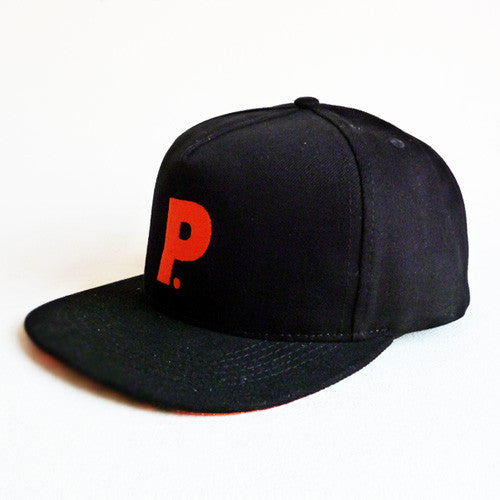 Post Hats & Details Italic Orange Snapback