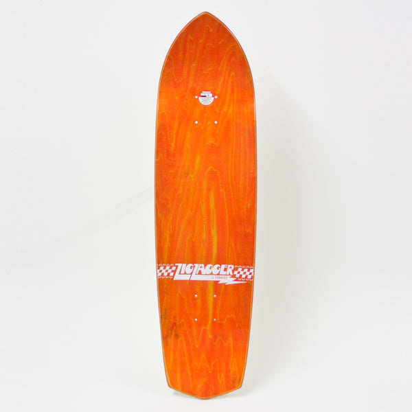 "Krooked Zig Zagger Deck 8.5"" (Various Stains)"