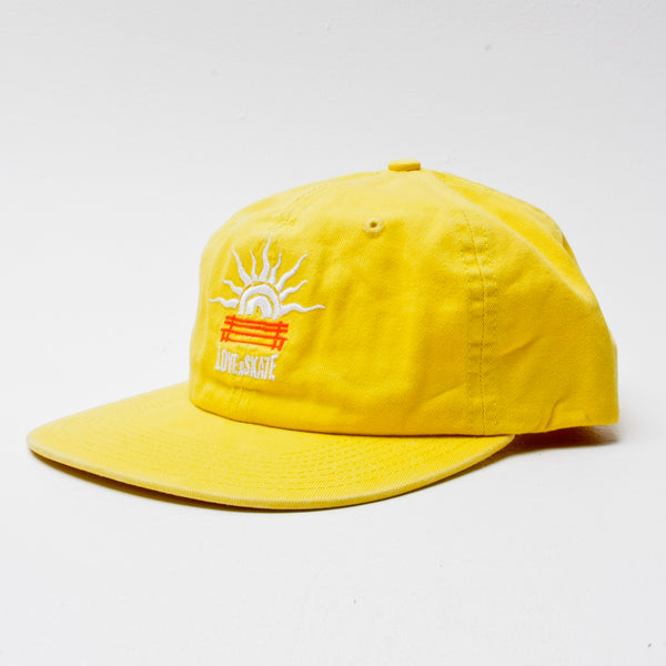 Lovenskate LUST4CURBS 6 Panel Cap Yellow