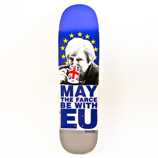"Lovenskate May The Farce Be With EU Deck 8.7"" Pool Shape"